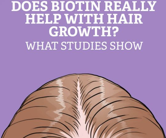 Does biotin really prevent hair loss and help with hair growth? Here's what studies show.
