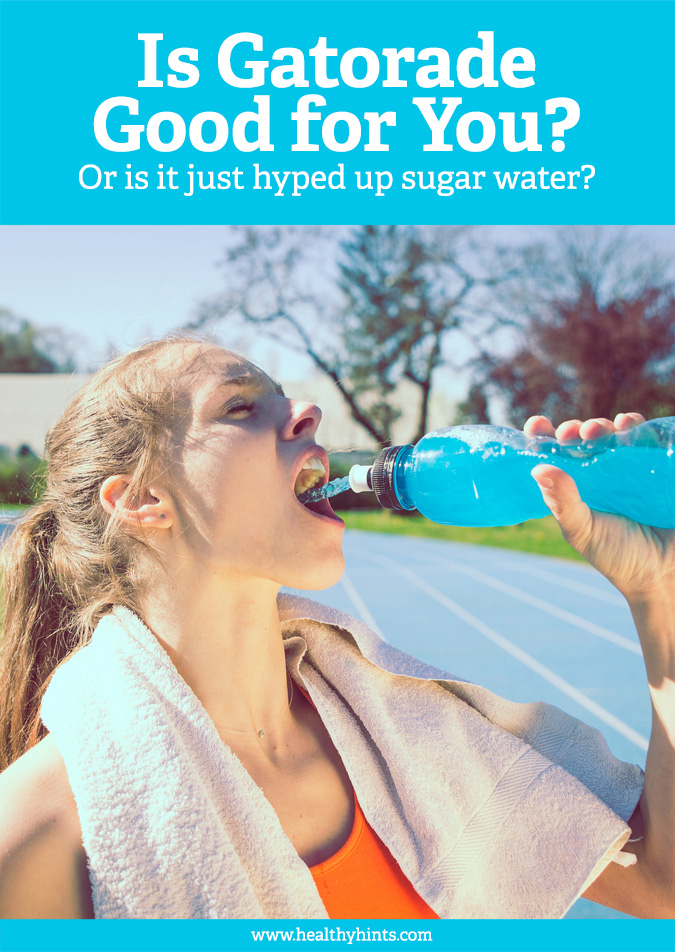 Gatorade. The iconic sports drink that everyone knows the name of. But is it healthy? Or just hyped up sugar water? Read to find out.
