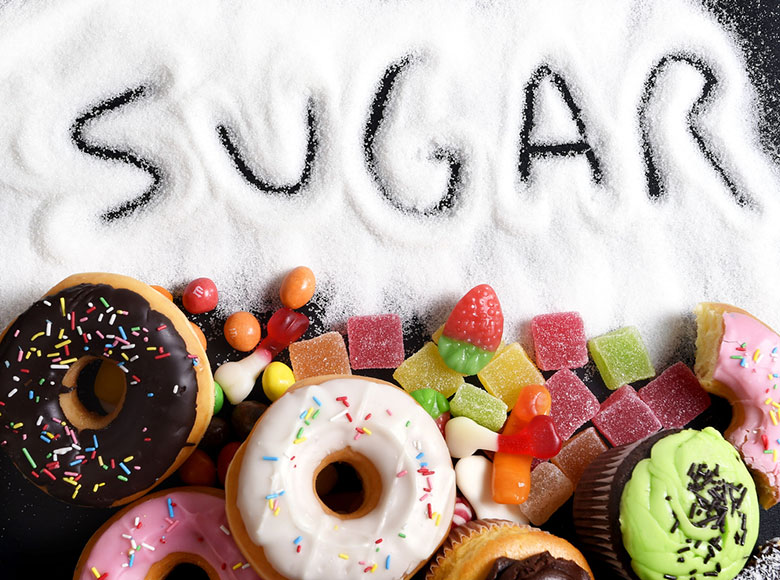 high sugar foods