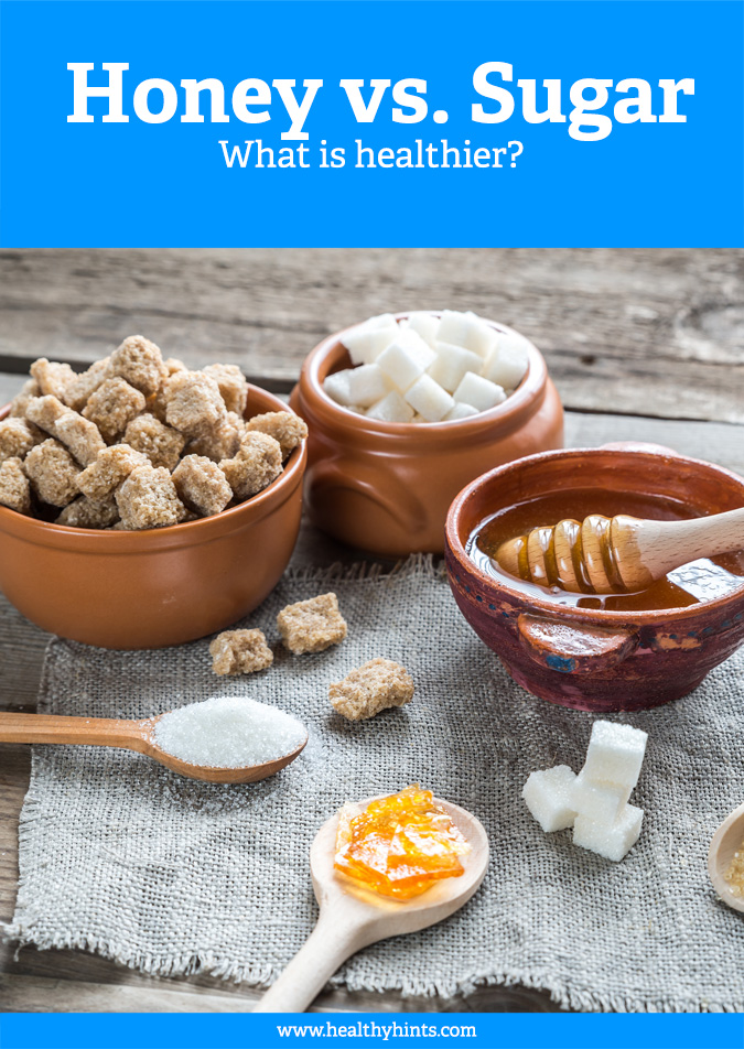 Which is healthier, honey or sugar? Or are they both bad for you? Read to find out.