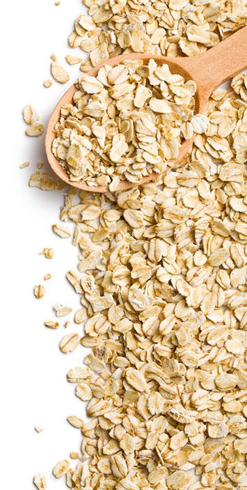 oats fiber content