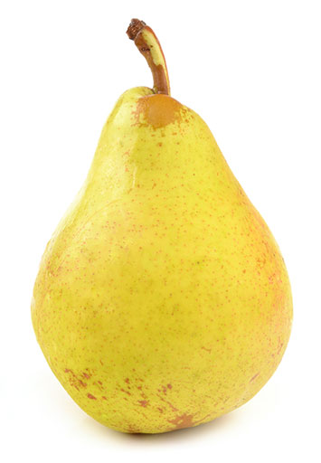 pears are high in fiber