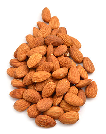 almonds are high in protein