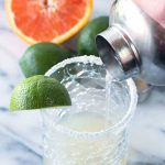 This clean and healthy margarita is so good! Way better than the fake, sugar filled margaritas you usually get at a restaurant or bar.