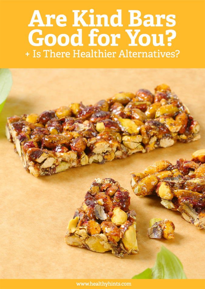 Are Kind Bars really that good for you or are they too high in sugar? See the nutritional breakdown of Kind Bars and if there are healthier alternatives out there.