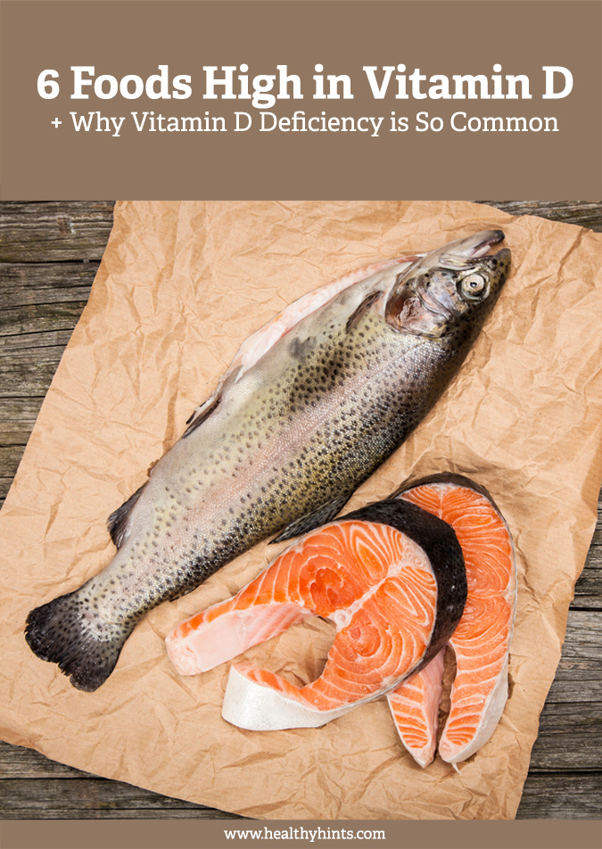 6 Foods Highest in Vitamin D (+ Why Deficiency is Common)