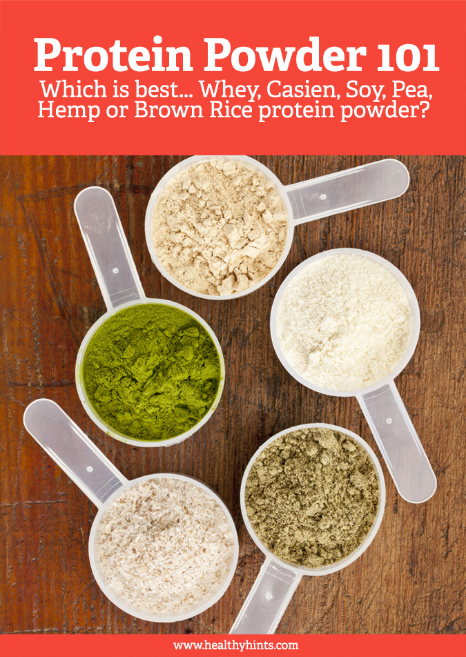 Which protein powder is best for you… whey, casein, pea, hemp, soy or brown rice protein powders? And does it even matter?