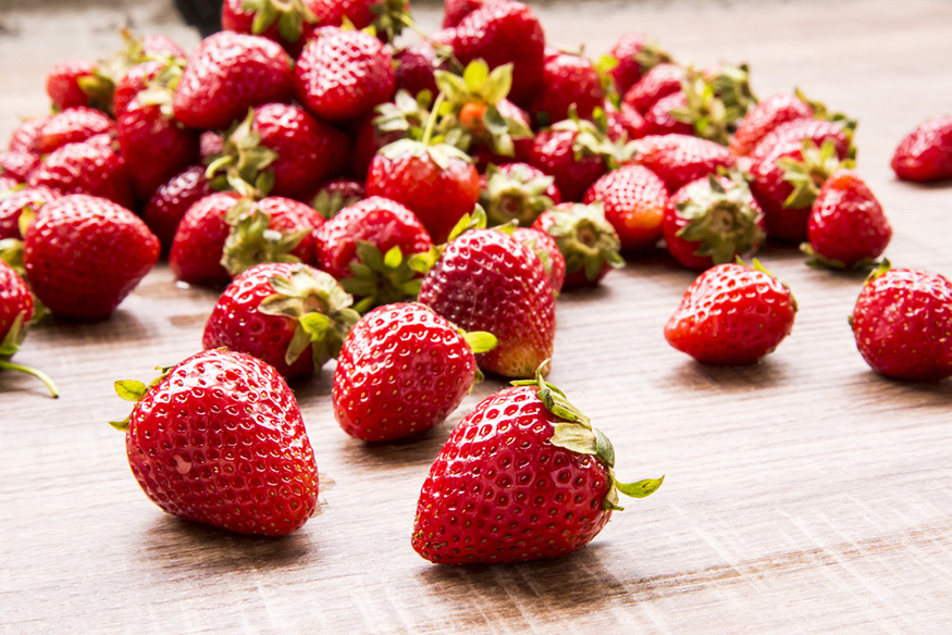 strawberry antioxidants