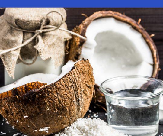 coconut oil hair routine