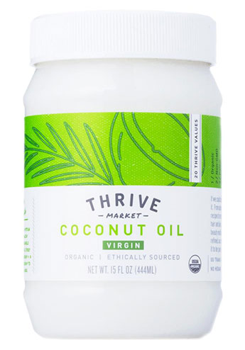 how much coconut oil