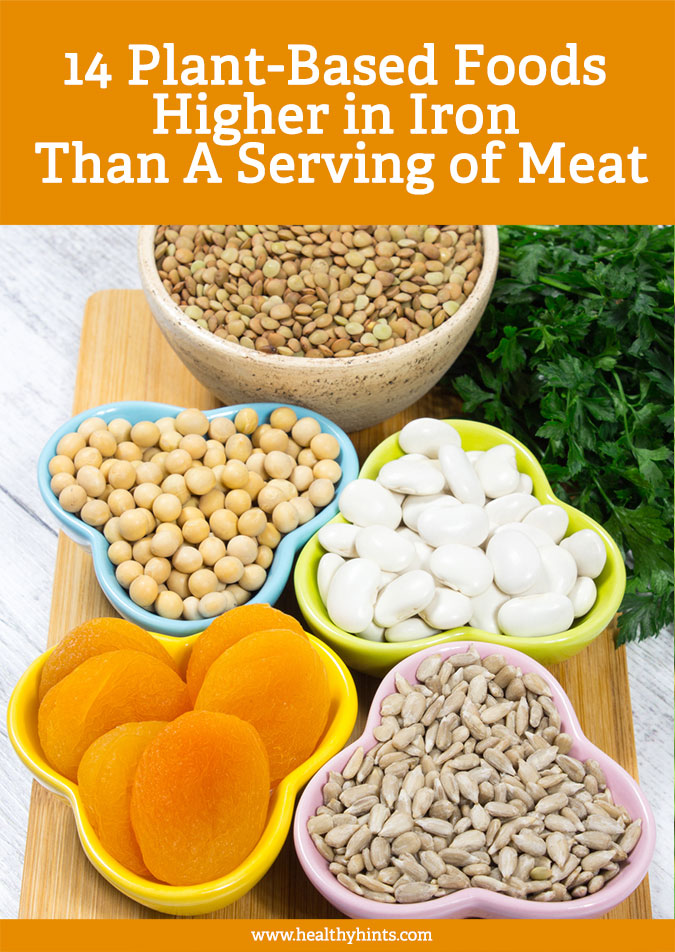 how to get iron in your diet without red meat