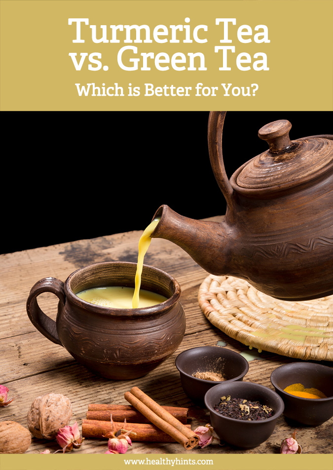 Turmeric Tea vs. Green Tea (Which is Better for You ...