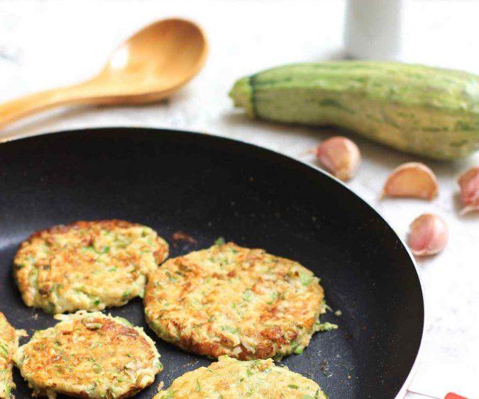 Protein Zucchini Pancakes