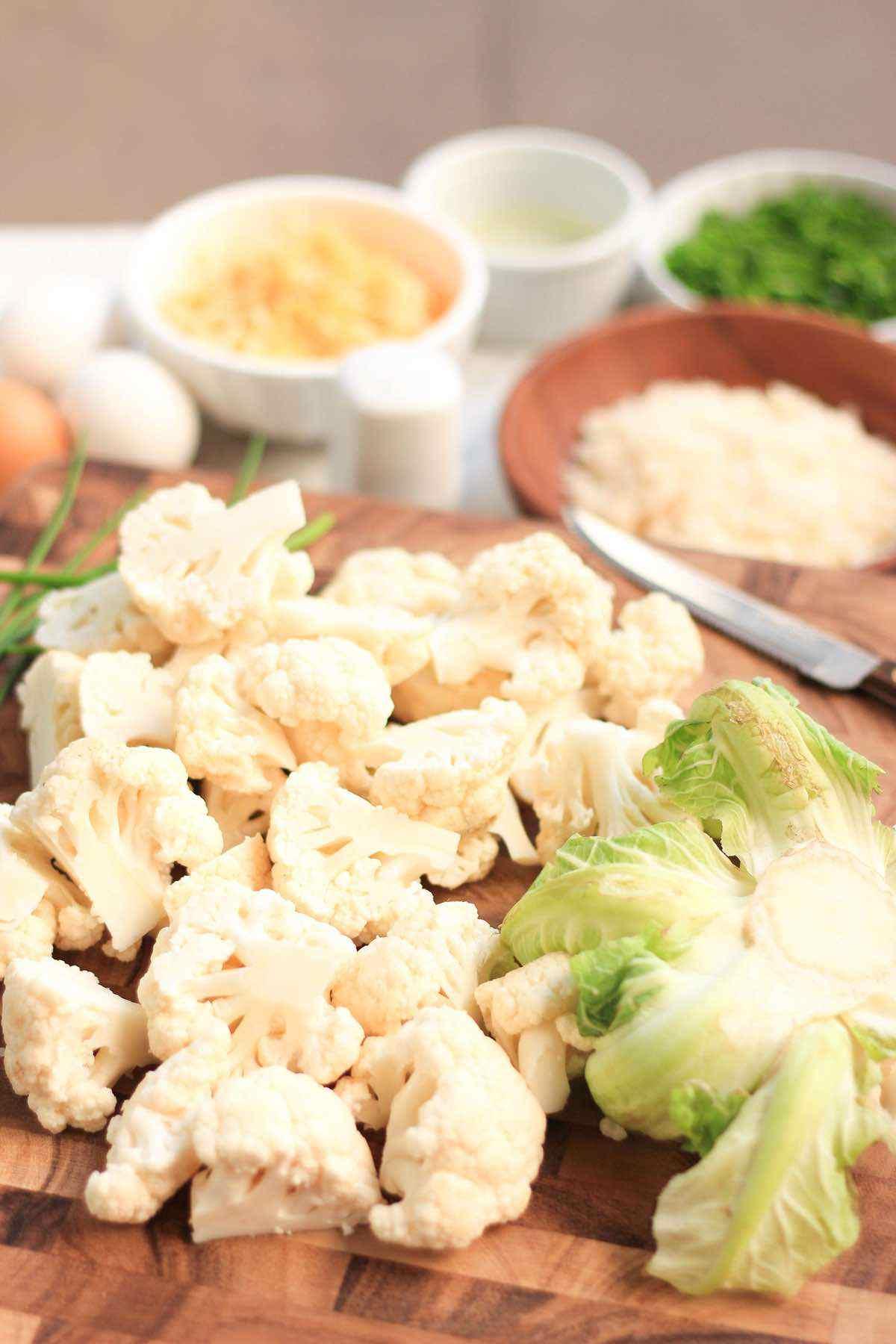 Cauliflower Keto Pancakes