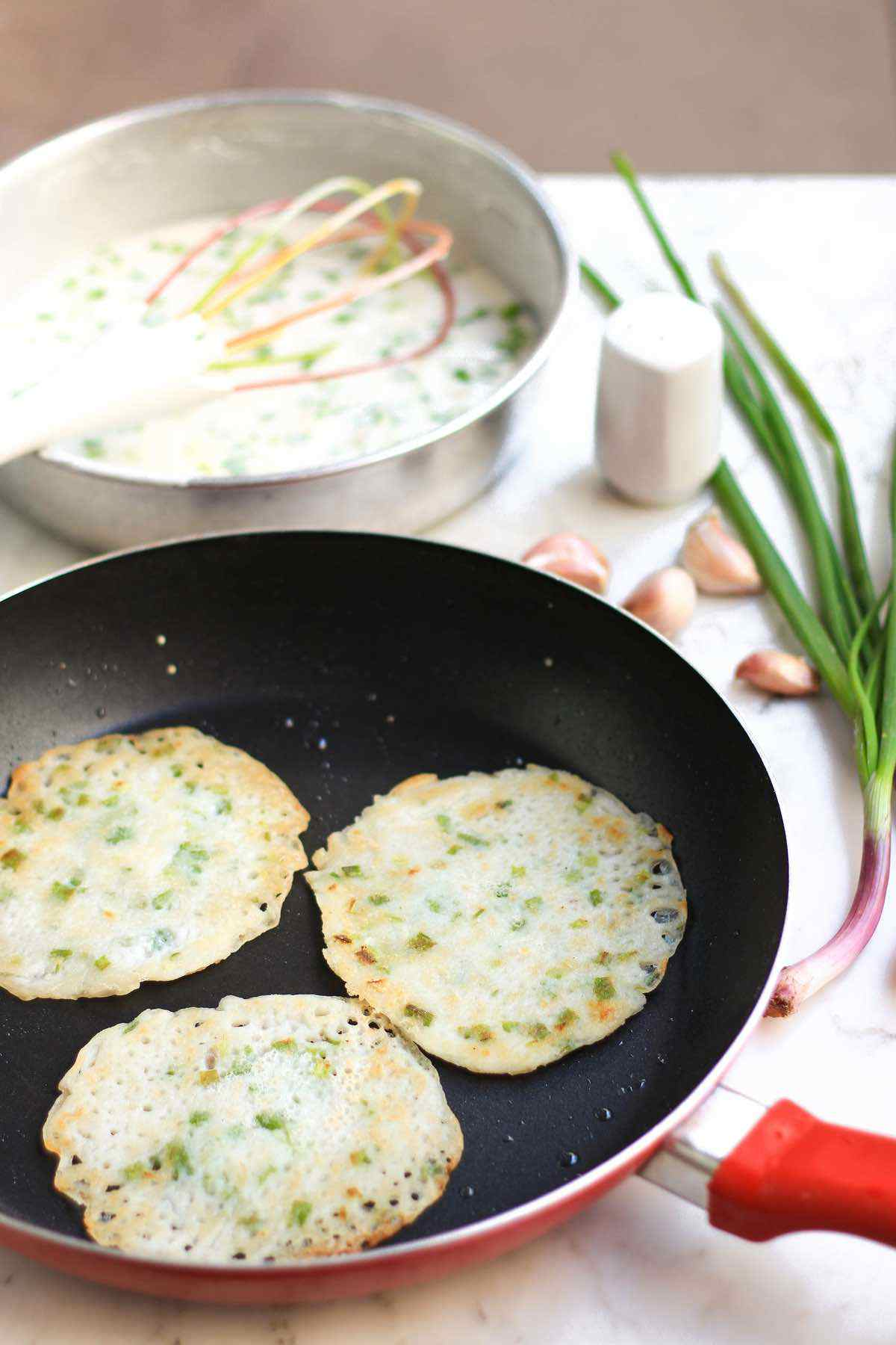 Garlic Scallion Pancakes