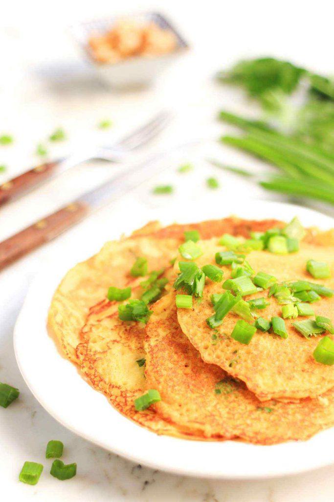 Chickpea Turmeric Pancakes
