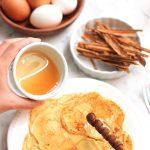 Cream Cheese Gluten Free Pancakes