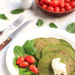 Low Carb Spinach Paleo Pancakes