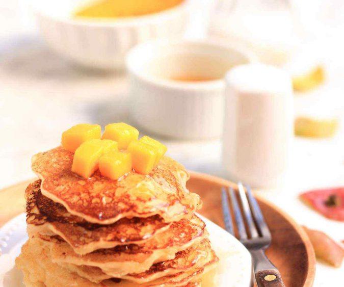 Mango Pancakes
