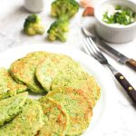 Low Carb Broccoli Pancakes