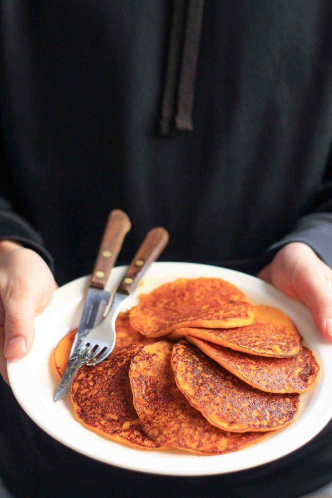 Pumpkin Pancakes from Scratch