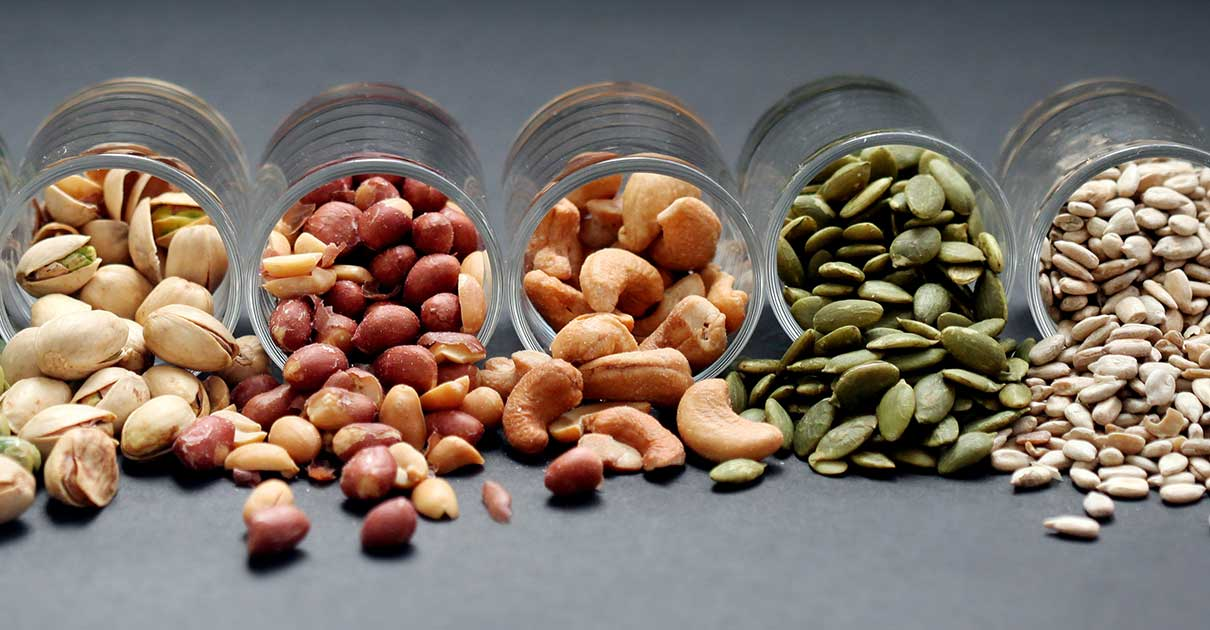 Healthy Nuts for Good Fat