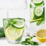 Lemon Water vs Cucumber Water